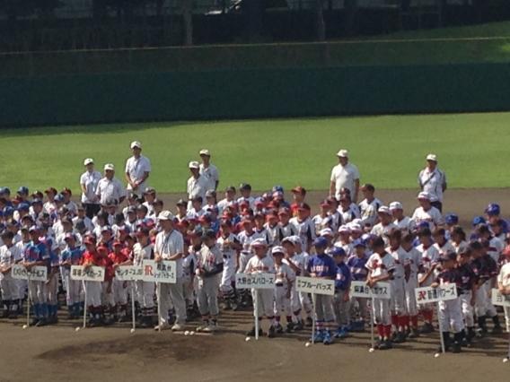 相模原市少年野球ジュニア大会開幕